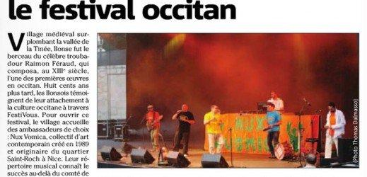 Nux Vomica ouvre le festival occitan