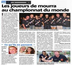 Les joueurs de mourra au championnat du monde dans La vie de la mourra moura-sardaigne-300x271