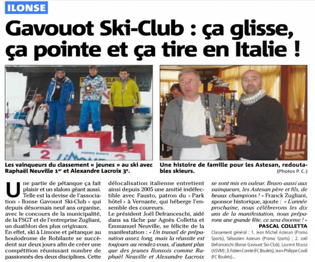 Ilonse Gavouot Ski Club : ça glisse, ça pointe, ça tire en Italie ! dans La vie des Chats d'Ilonse limone-mars13
