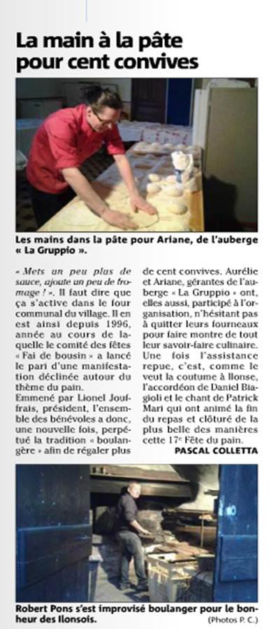 La main à la pâte pour cent convives dans La vie des Chats d'Ilonse fete-pain2013